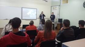 Orácullos ministra palestra em Instituição de Ensino Superior